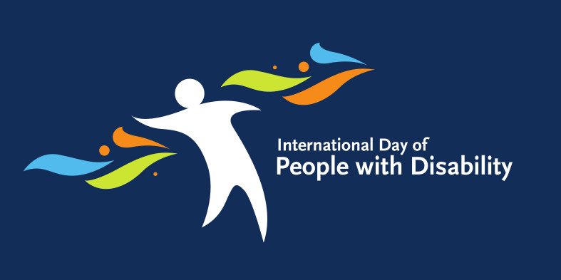 IDPwD logo, International Day of People with Disabilities