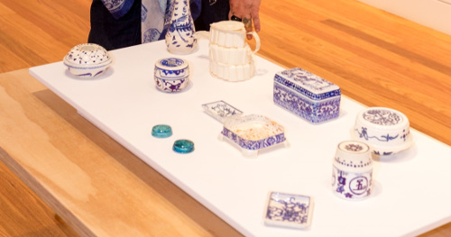 STILL Winner Sarah Goffman's work 'Asian Table'