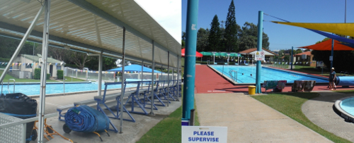 Sawtell and Woolgoolga Pools