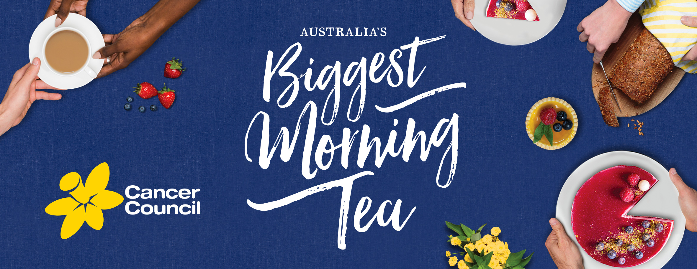 Cancer Council Biggest Morning Tea