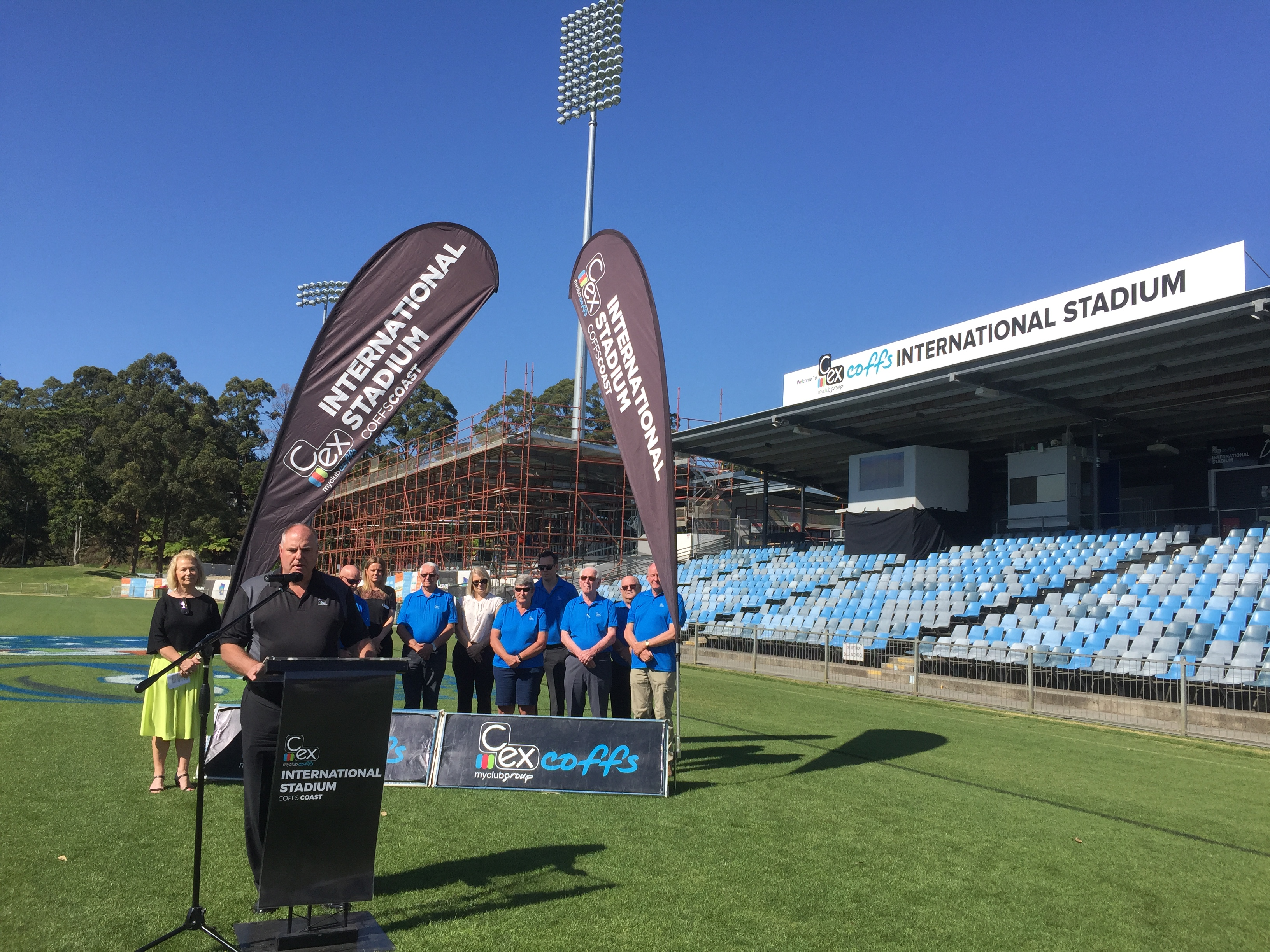 Stadium Partnership: C ex Group to Maintain Naming Rights - Coffs
