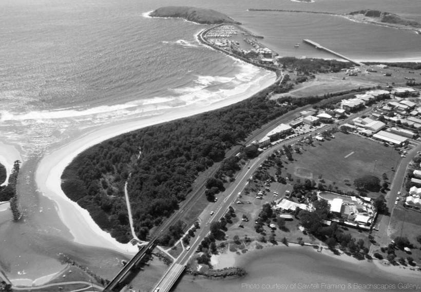 Coffs Creek aerial