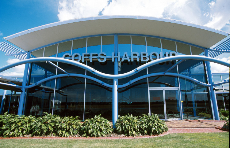Coffs Harbour Regional Airport terminal building
