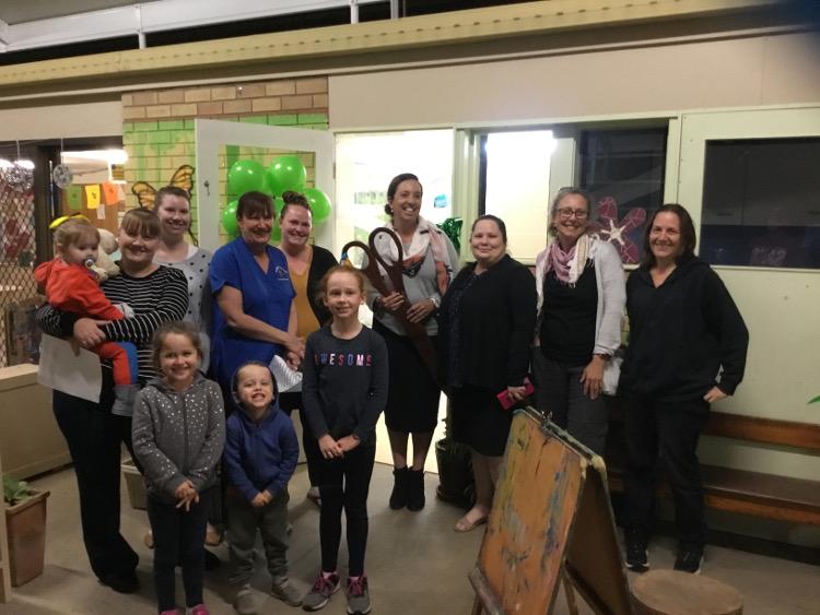 CCIGrants - Gumnut Preschool renovated bathroom opening 2019