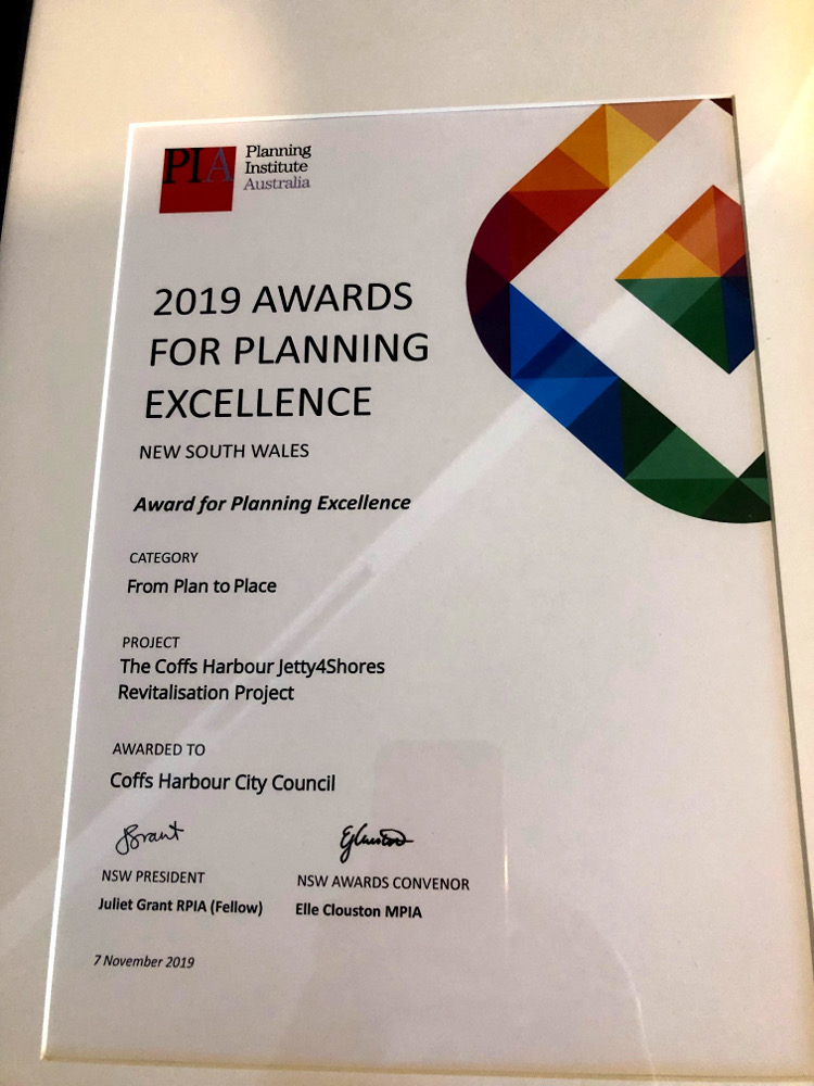 2019 Award for Planning Excellence - From Plan to Place