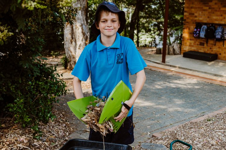 Composting project Sawtell Primary School