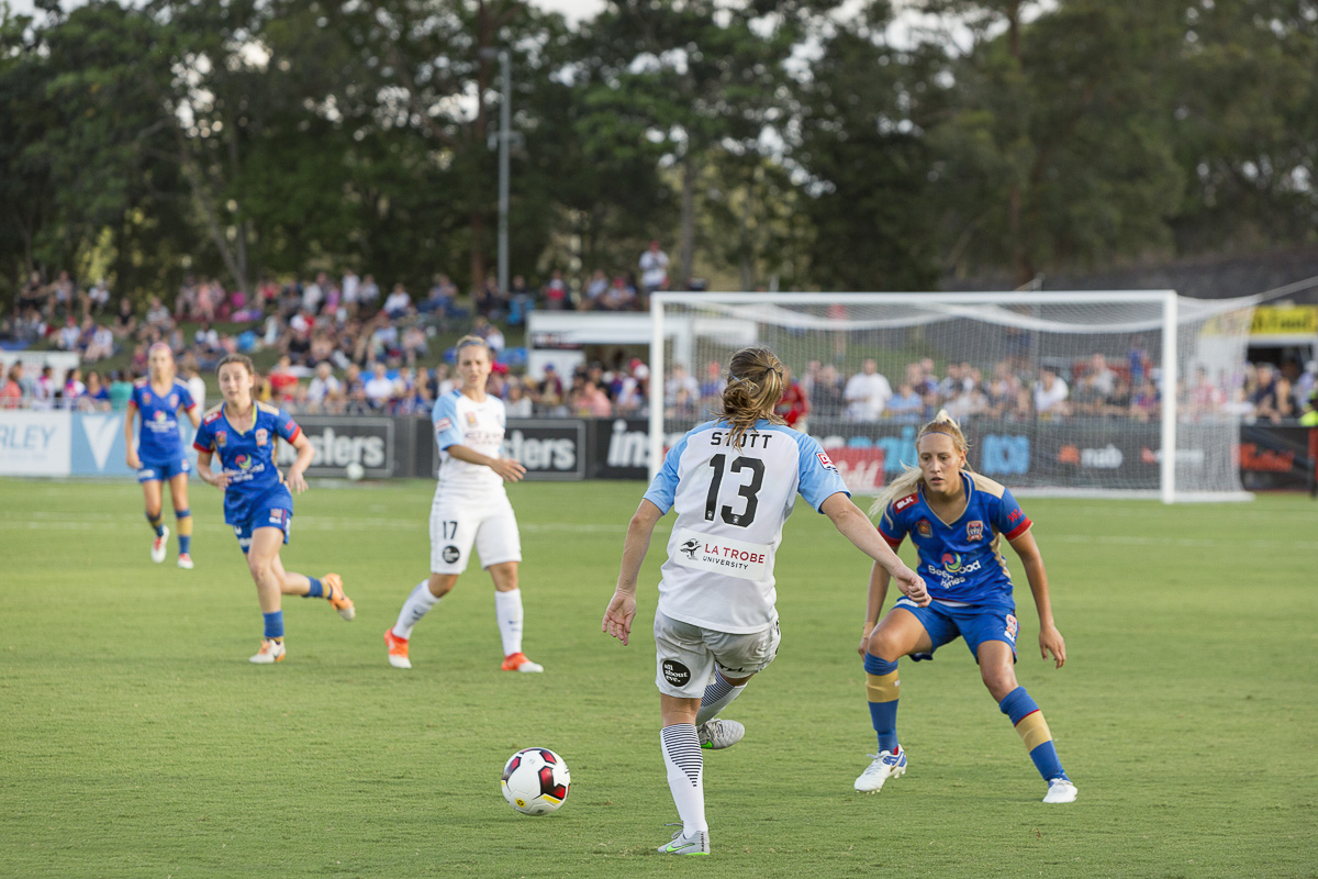 W League action at the Stadium 2017