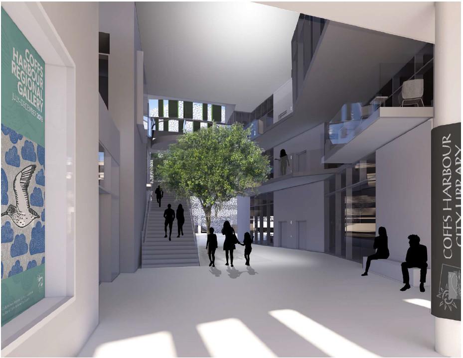 view of internal street CCS