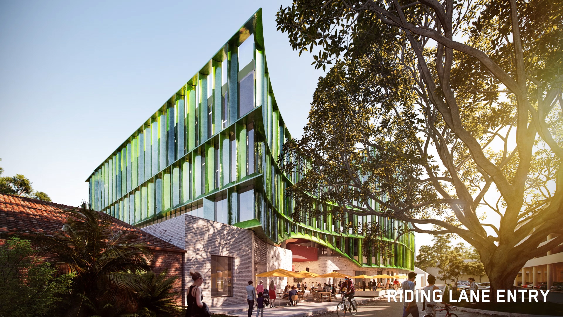 3d Render of Coffs Harbour Cultural and Civic Space