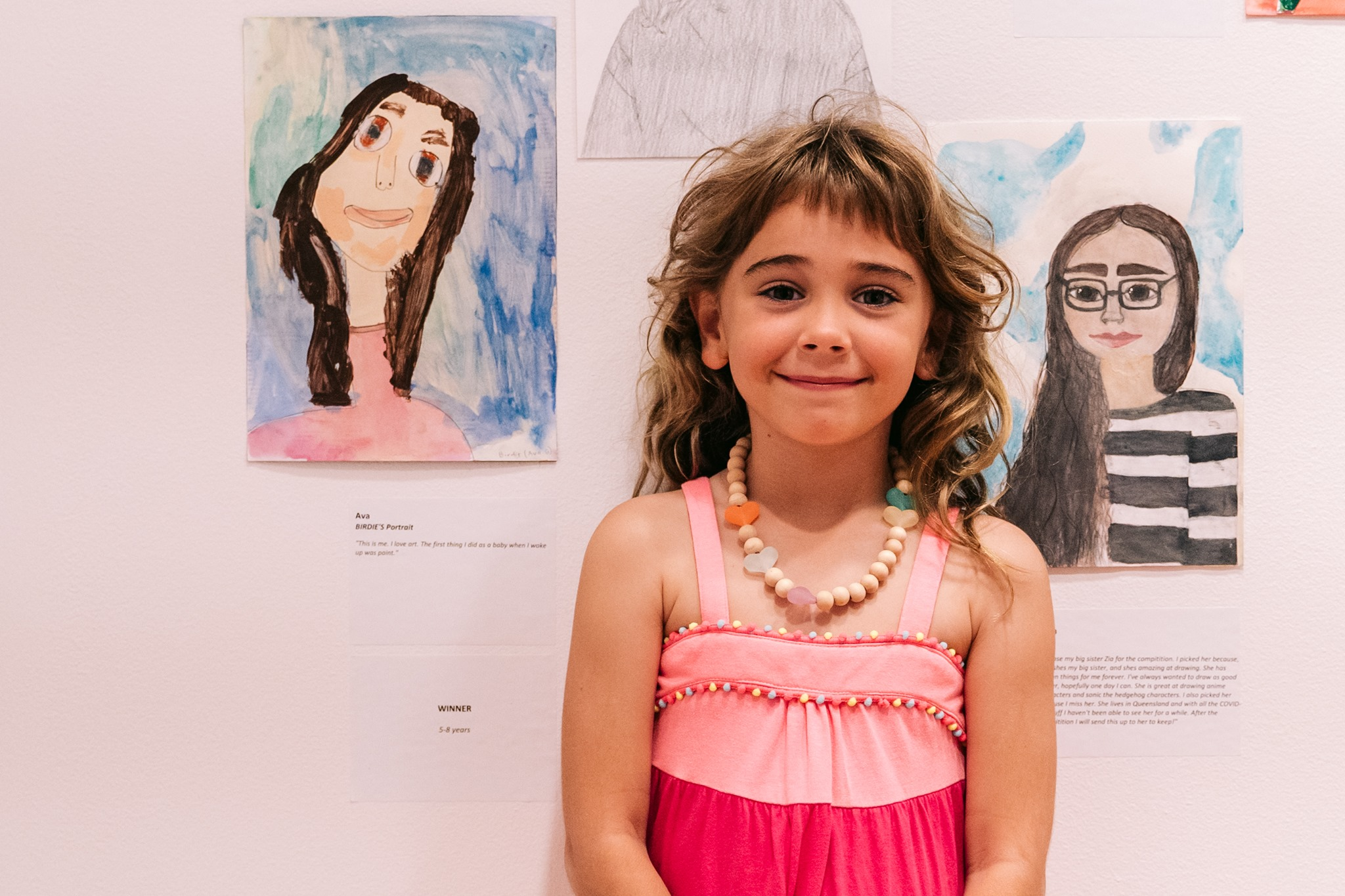 Coffs Harbour's youngest Young Archie winner, Ava Birdie Gallagher. Image courtesy of and the trees photography